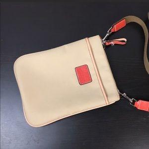 Coach Beige Nylon/Leather Crossbody Bag Coach